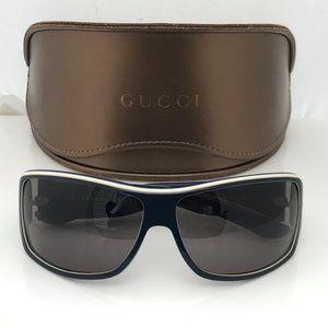 Authentic Gucci Sunglasses Blue White GG 1621/S GR